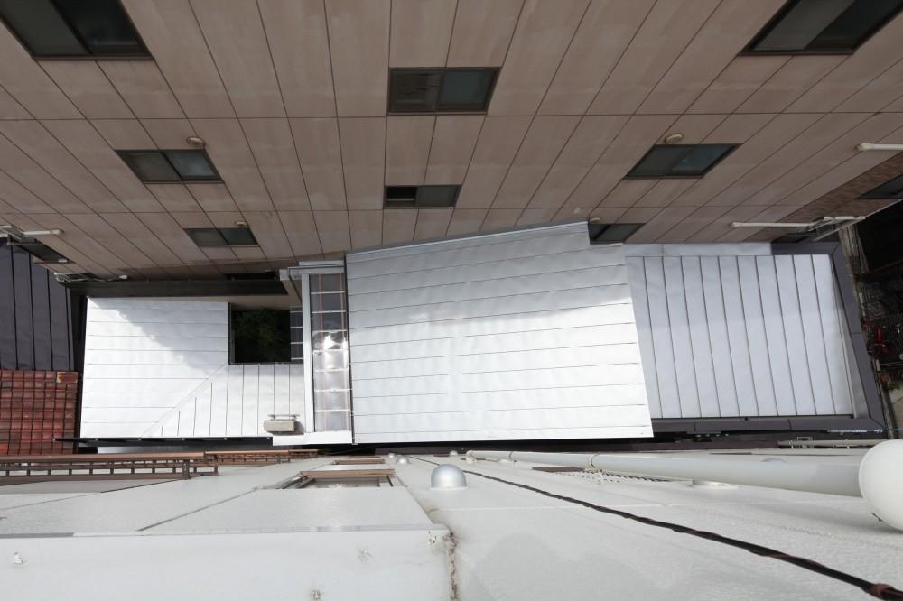 住之江の元長屋 | ビフォーアフター放映 | 築74年の元長屋に光と風を (上部から)