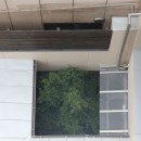 住之江の元長屋 | ビフォーアフター放映 | 築74年の元長屋に光と風をの写真 中庭部分