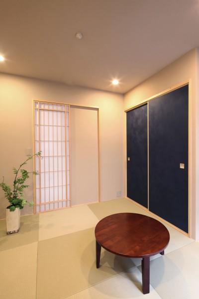 和室 (住之江の元長屋 | ビフォーアフター放映 | 築74年の元長屋に光と風を)