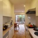 住之江の元長屋 | ビフォーアフター放映 | 築74年の元長屋に光と風をの写真 キッチン