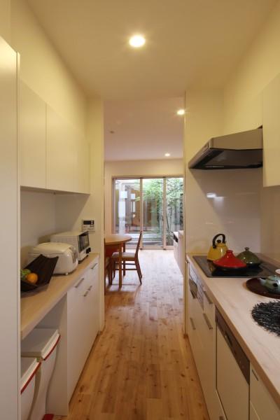 キッチン (住之江の元長屋 | ビフォーアフター放映 | 築74年の元長屋に光と風を)