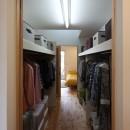住之江の元長屋 | ビフォーアフター放映 | 築74年の元長屋に光と風をの写真 クローゼット