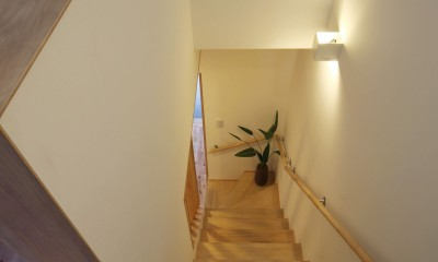 住之江の元長屋 | ビフォーアフター放映 | 築74年の元長屋に光と風を (階段)