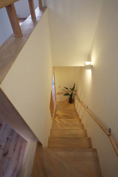 階段 (住之江の元長屋 | ビフォーアフター放映 | 築74年の元長屋に光と風を)