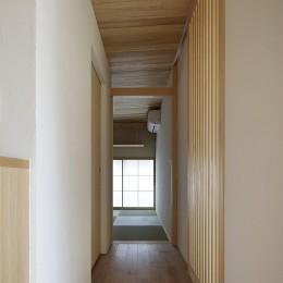 二宮の家 (廊下)