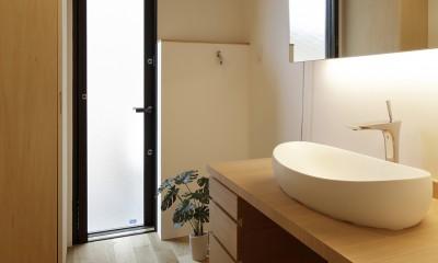 洗面所|二宮の家