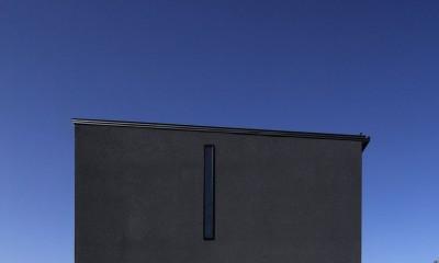 街を一望する家 (外観)