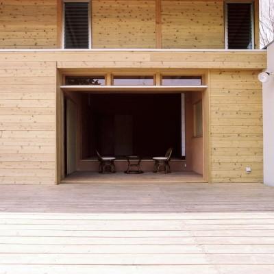 和室 (穏やかな時が流れる週末住宅 大室高原の別荘)