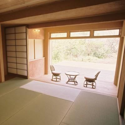 和室 (穏やかな時が流れる週末住宅|大室高原の別荘)