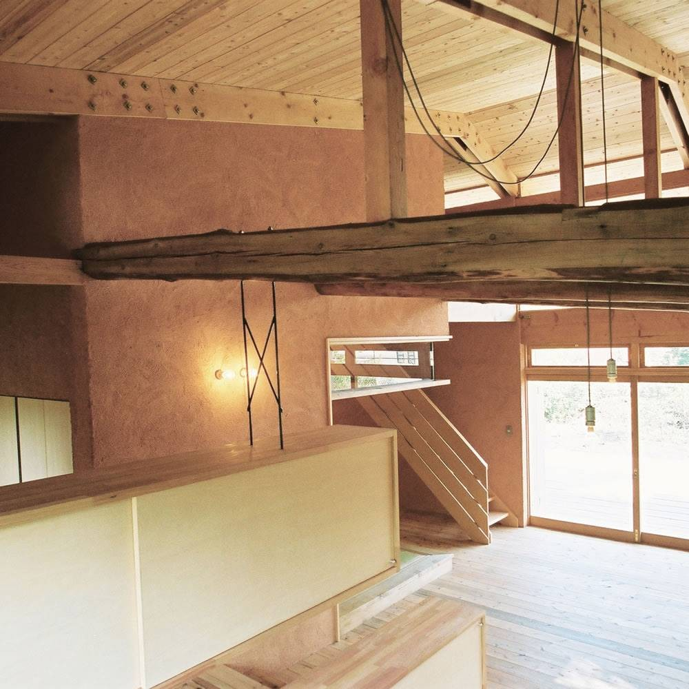 穏やかな時が流れる週末住宅 大室高原の別荘 (吹抜け)