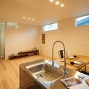 ナチュラルで柔らかい空気感の写真 キッチン