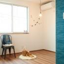 ナチュラルで柔らかい空気感の写真 洋室