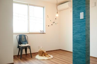 洋室 (ナチュラルで柔らかい空気感)
