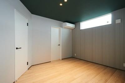 寝室 (ナチュラルで柔らかい空気感)