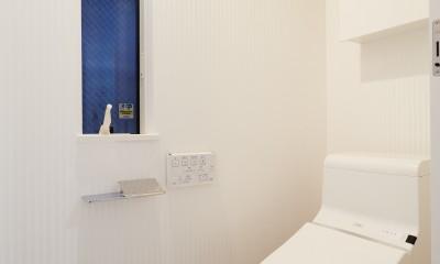ナチュラルで柔らかい空気感 (トイレ)
