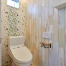 ナチュラルで柔らかい空気感の写真 トイレ