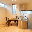 ナチュラルで柔らかい空気感の写真 ダイニング・キッチン
