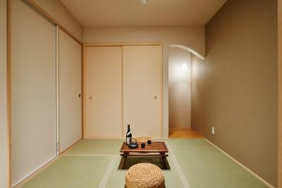 和室 (ナチュラルで柔らかい空気感)