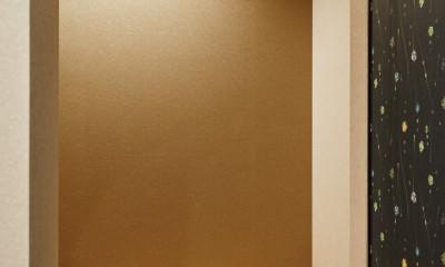 ナチュラルで柔らかい空気感 (玄関ホール)