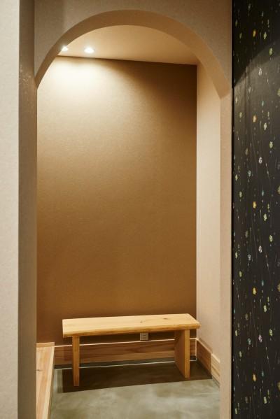 玄関ホール (ナチュラルで柔らかい空気感)