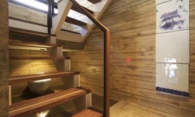 貴船の家 (階段)
