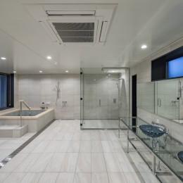 池下の家 (浴室)