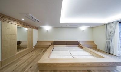 池下の家 (寝室)