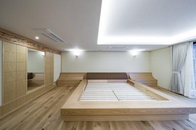 寝室 (池下の家)
