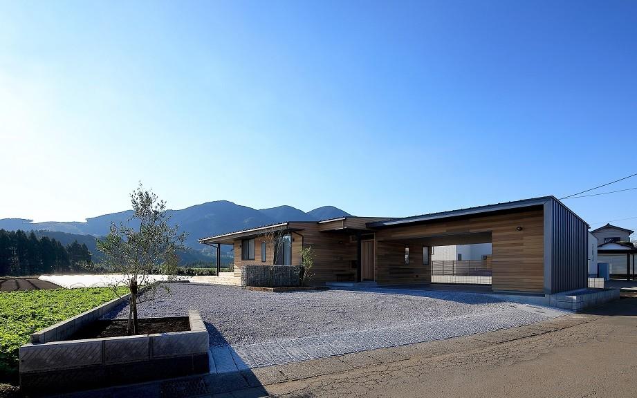 清武町の家~素材感を愉しむ家~ (北東側外観)