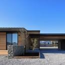 清武町の家~素材感を愉しむ家~の写真 東側外観
