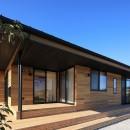 清武町の家~素材感を愉しむ家~の写真 テラス