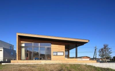 清武町の家~素材感を愉しむ家~ (南側外観)