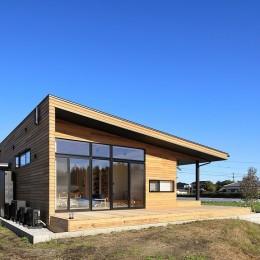 清武町の家~素材感を愉しむ家~ (南西側外観)