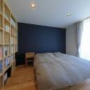 清武町の家~素材感を愉しむ家~の写真 寝室