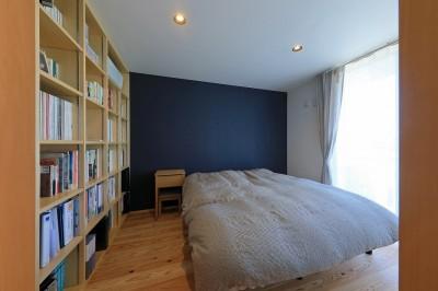 寝室 (清武町の家~素材感を愉しむ家~)