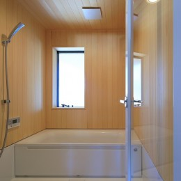 清武町の家~素材感を愉しむ家~ (浴室)