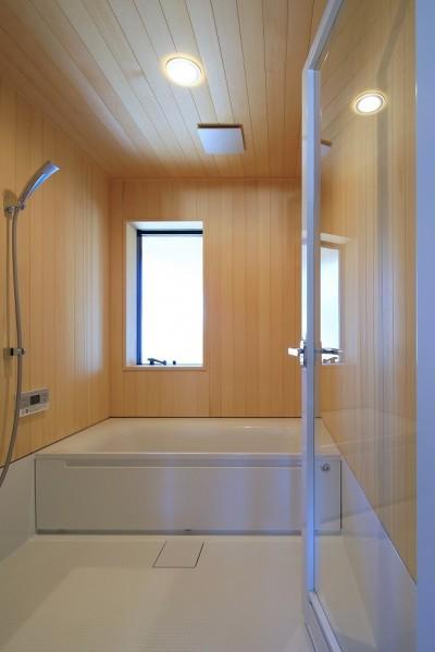 浴室 (清武町の家~素材感を愉しむ家~)