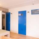 room blue ballen~「妻に心ときめくキッチンを」。想い溢れるワンルーム的リノベーション~の写真 造作建具