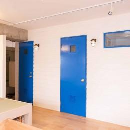 room blue ballen~「妻に心ときめくキッチンを」。想い溢れるワンルーム的リノベーション~