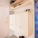 room blue ballen~「妻に心ときめくキッチンを」。想い溢れるワンルーム的リノベーション~の写真 玄関