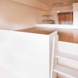 room blue ballen~「妻に心ときめくキッチンを」。想い溢れるワンルーム的リノベーション~ (寝室)