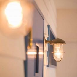 room blue ballen~「妻に心ときめくキッチンを」。想い溢れるワンルーム的リノベーション~ (照明)