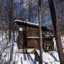軽井沢の家~木々を一切切らずそのままの敷地を生かし、そこにそっと置いてあげたような住宅~の写真 軽井沢の家 外観3