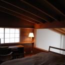 早田雄次郎建築設計事務所の住宅事例「軽井沢の家~木々を一切切らずそのままの敷地を生かし、そこにそっと置いてあげたような住宅~」