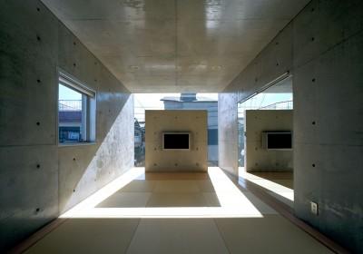 2階和室 (下町のコンクリートCUBE -コンクリート打ち放し-)