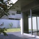 下町のコンクリートCUBE -コンクリート打ち放し-の写真 中庭とテラス