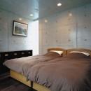 下町のコンクリートCUBE -コンクリート打ち放し-の写真 2階寝室