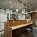 隠れ家リビングの写真 キッチン