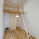 sadaltager/方位性を失うことのできるコートハウスの作り方を考える。の写真 寝室