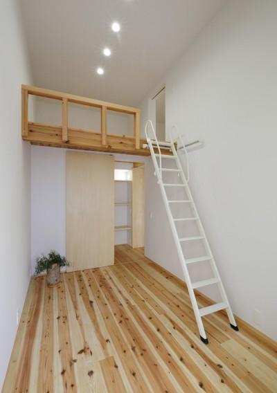 寝室 (sadaltager/方位性を失うことのできるコートハウスの作り方を考える。)